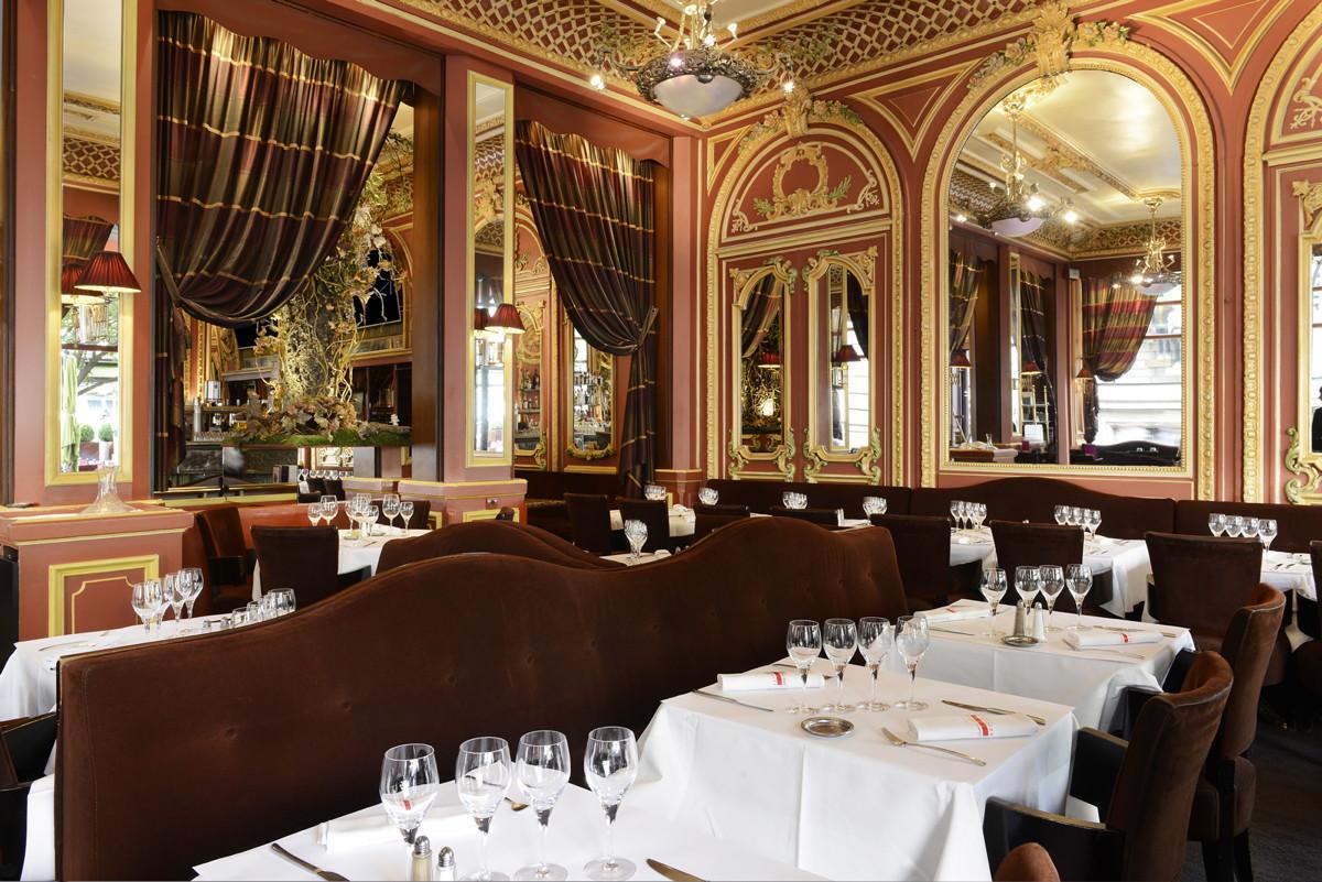 La salle de restaurant second empire grand caf des for Resto lasalle